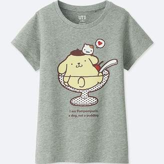 Uniqlo Girl's Sanrio Characters Short-sleeve Graphic T-Shirt