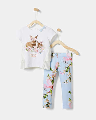 Ted Baker TIZABEL Harmony top and leggings set