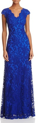 Tadashi Shoji Illusion Lace Gown $298 thestylecure.com