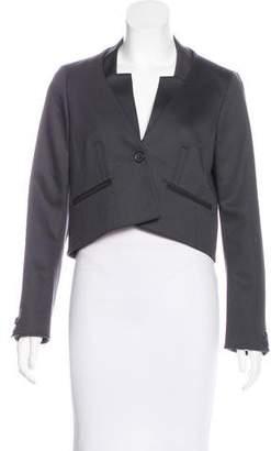 Celine Wool Crop Blazer