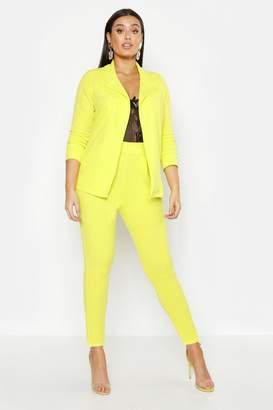 boohoo Plus Neon Suit Co-Ord