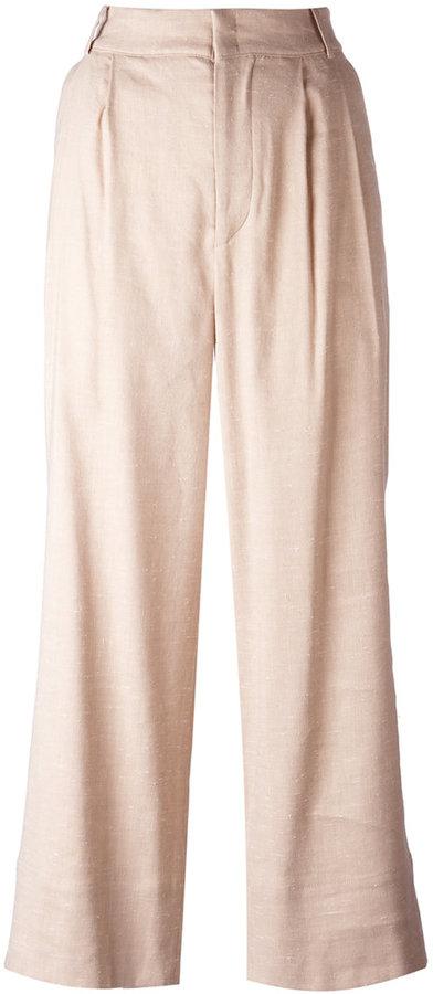 Isabel MarantIsabel Marant flared tailored trousers