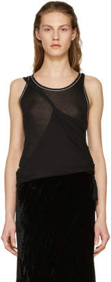Ann Demeulemeester Black Chic Tank Top