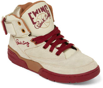 e8bafbde94b0 Patrick Ewing (Kids Boys) Taupe   Clay Suede 33 High-Top Sneakers