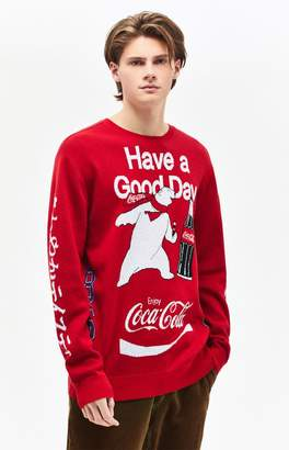 PacSun x Coca-Cola Polar Bear Crew Neck Sweater