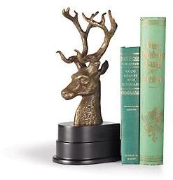 Stag's Head Bookends