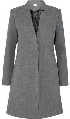 Milly Wool-Blend Twill Coat