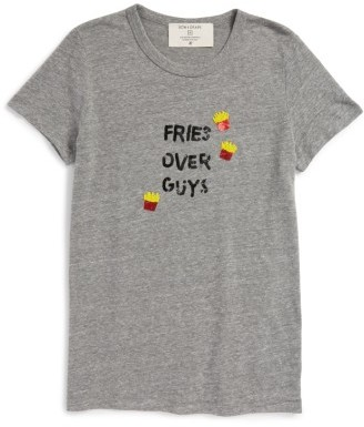 Women's Bow & Drape Fries Over Guys Tee $39 thestylecure.com