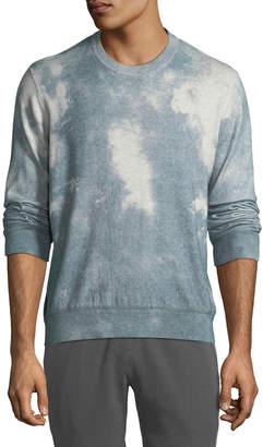 ATM Anthony Thomas Melillo Men's Wash-Dyed Crewneck Sweater
