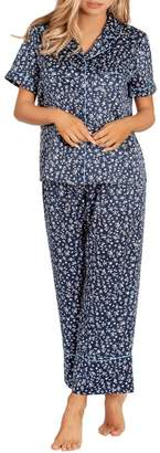 Jonquil In Bloom by Satin Crop Pajamas
