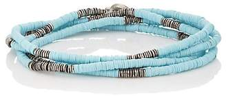 M. Cohen Men's African Disc Wrap Bracelet