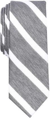 Bar III Men's Ossie Stripe Skinny Tie