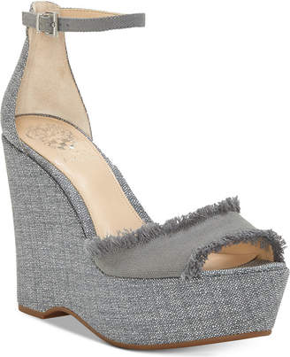Vince Camuto Tatchen Platform Wedge Sandals Women's Shoes