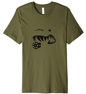 Military Aviation Pilot A10 Warthog Teeth T-Shirt