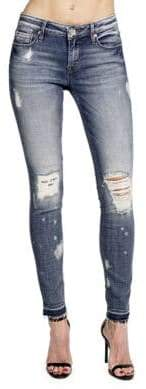 Cult of Individuality Zen Mid-Rise Skinny-Fit Jeans