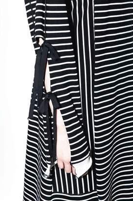 3.1 Phillip Lim Side-Tie Long-Sleeve Dress