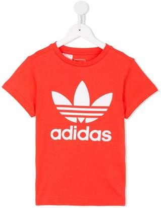 adidas Kids logo printed T-shirt