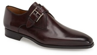 Men's Magnanni 'Hugo' Monk Strap Slip-On $350 thestylecure.com