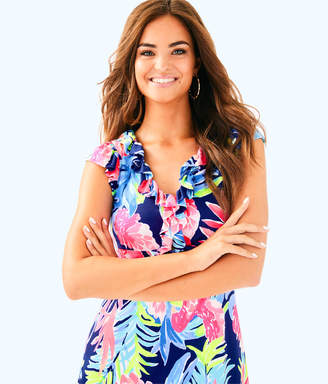 Lilly Pulitzer Clare Silk Jersey Dress
