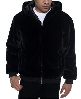 Sean John Men Faux Fur Jacket