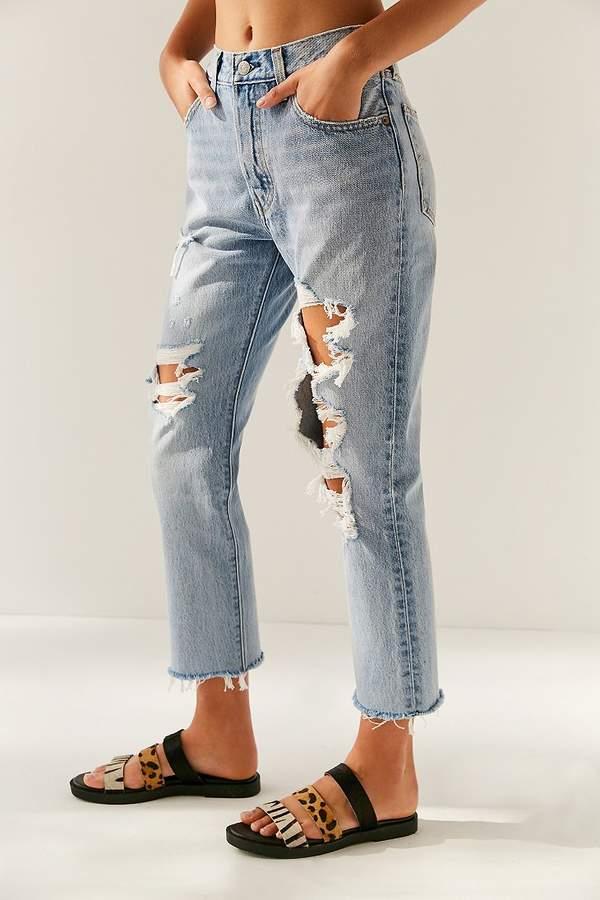 Levi's 501 Cropped Skinny Jean – Bonafide