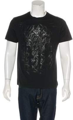 Gianni Versace Embellished Medusa Graphic T-Shirt
