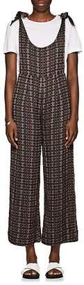 Ace&Jig Women's Johnny Geometric-Pattern Cotton Jumpsuit