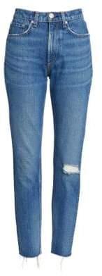 Rag & Bone High Rise Ankle Jeans