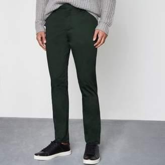 River Island Green skinny chino pants