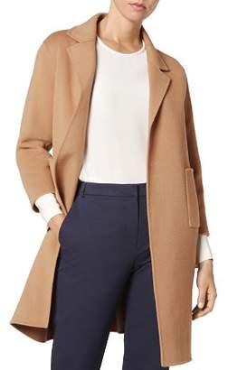LK Bennett Becca Wool & Cashmere Camel Coat