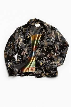 Urban Outfitters Brocade Zip Shirt