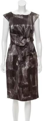 Michael Kors Wool Printed Dress w/ Tags