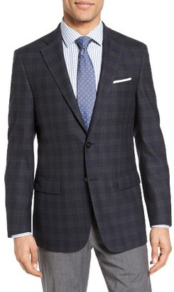 Men's Hart Schaffner Marx Classic Fit Plaid Wool Sport Coat $495 thestylecure.com