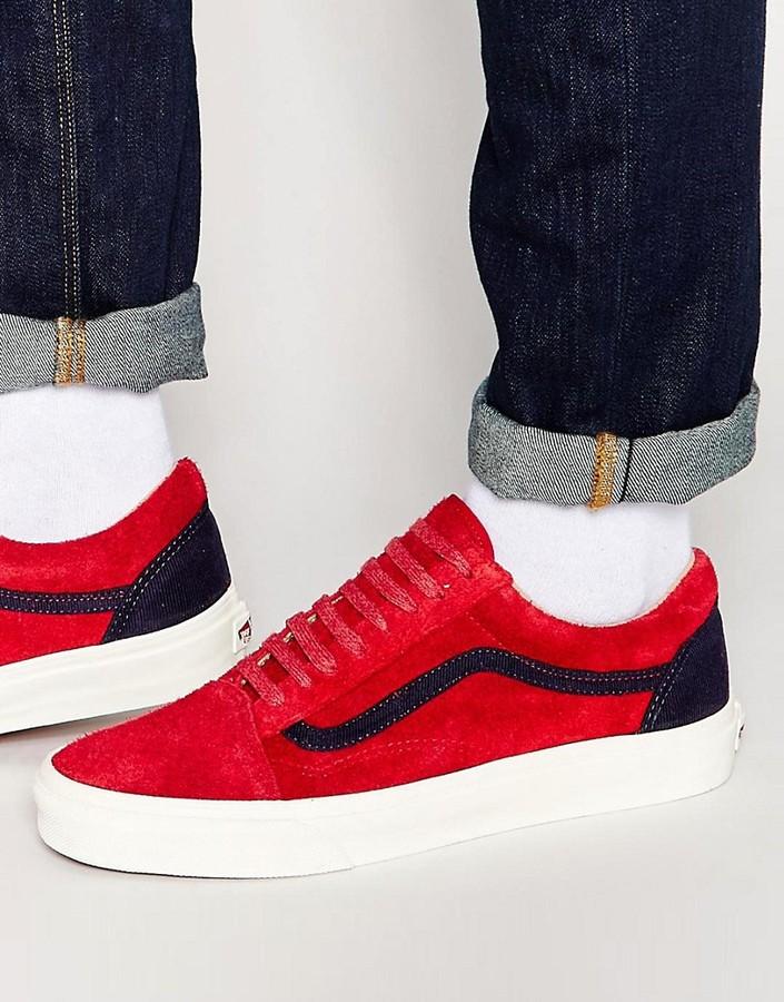 Vans Old Skool Sneakers In Red V4O7IJV