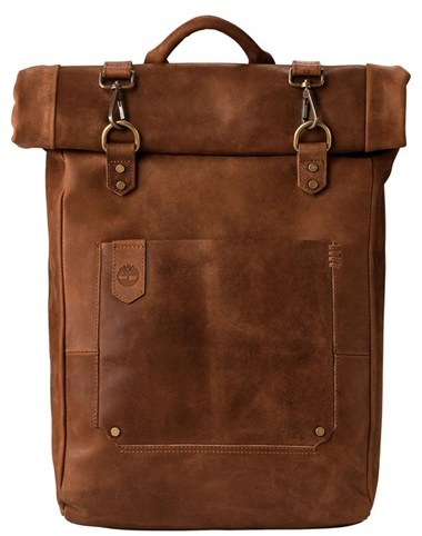 Timberland Men's Timberland 'Walnut Hill' Leather Backpack - Beige