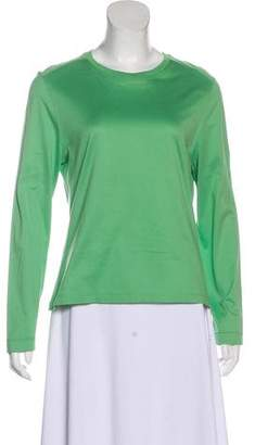 Malo Long Sleeve Knit Top