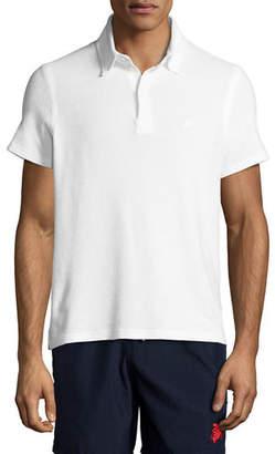 Vilebrequin Terry Short-Sleeve Polo Shirt