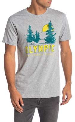 Body Rags Short Sleeve Olympic National Park Tee