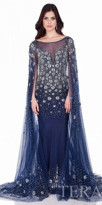 Terani Couture Starry Night Beaded Evening Gown $1,001 thestylecure.com