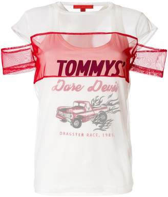 Tommy Hilfiger dare devil mesh T-shirt