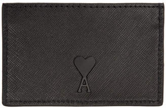 Ami Alexandre Mattiussi Black Card Holder