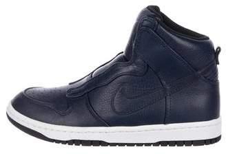 Sacai x Nike Dunk Lux High-Top Sneakers