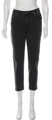 Acne Studios Mid-Rise Cropped Jeans