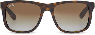 Ray-Ban RB4165 tortoise shell rectangle sunglasses