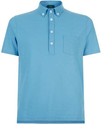 SLOWEAR Relaxed Cotton Polo Shirt