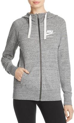 Nike Swoosh Gym Vintage Hoodie $60 thestylecure.com