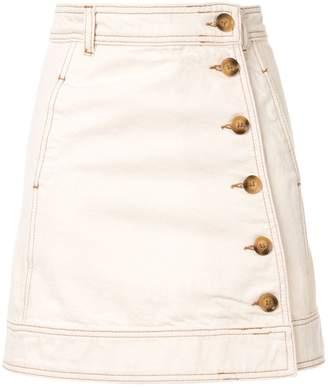 fed4058b21ebc4 Side Button Skirt - ShopStyle