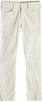 Mother The Looker Cropped Corduroy Skinny Jeans