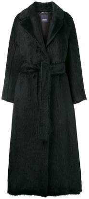 Max Mara 'S faux-fur oversized coat