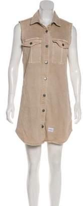 Calvin Klein Jeans Denim Sleeveless Mini Dress